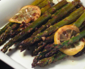 Post image for Lemon-Garlic Roasted Asparagus