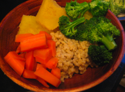 Post image for A Macrobiotic Meal