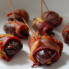 Thumbnail image for Bacon Wrapped Dates – Goat Cheese and Pistachios
