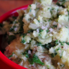 Thumbnail image for Mashed Fingerling Potatoes + Kale