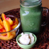 Thumbnail image for Peaches And Cream Green Smoothie