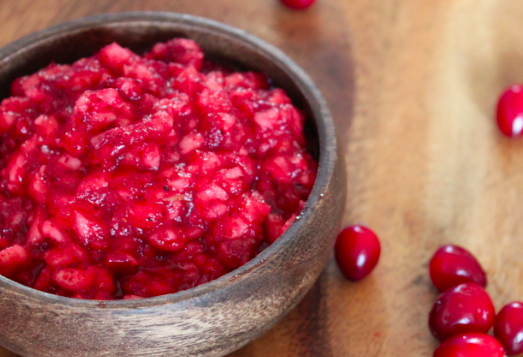 Post image for Apple Cranberry Sauce