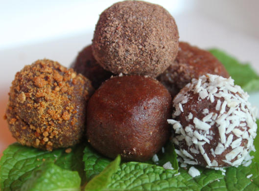 Post image for Peppermint Chocolate Truffles