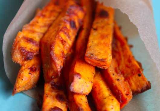 What's Cookin?: Crispy Baked Sweet Potato Fries