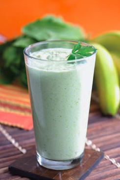 Post image for Creamy Green Smoothie