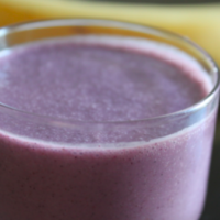 Blueberry Wake-Up Call Smoothie