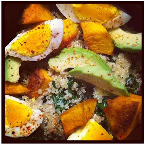 Post image for Quinoa Egg Bowl