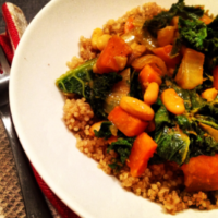 Robyn's Squash & Kale Curry