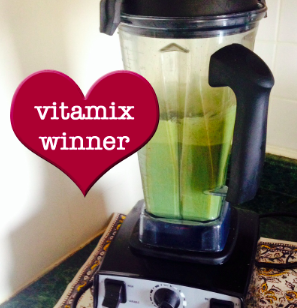 Vitamix Contest Winner!!