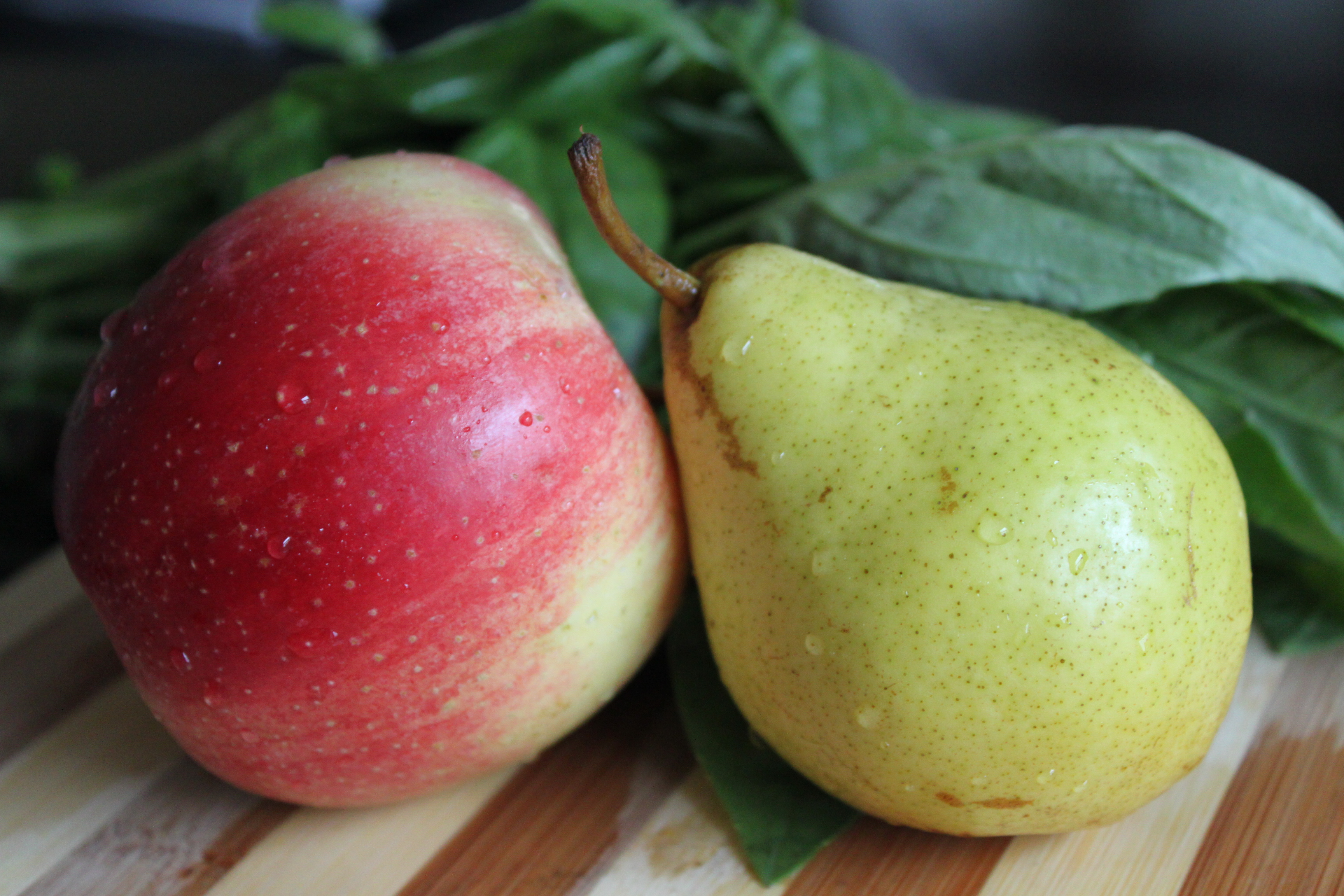 apple pear salad healthy crush