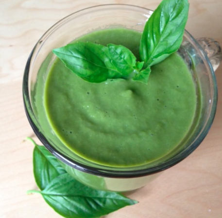 Post image for Basil Lover's Smoothie