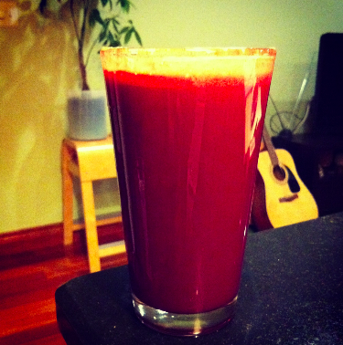 Post image for Juice Cleanse Day 8, Beet Juice Recipe