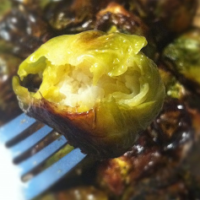Cream Puff Brussels Sprouts