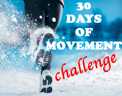 Post image for 30 Days of Movement Challenge