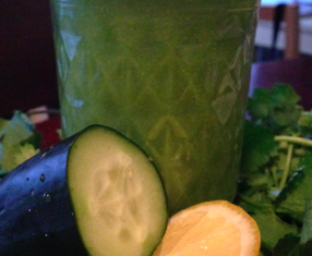 Super Cilantro Detox Smoothie