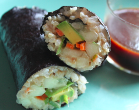 Post image for Crazy Sexy Nori Rolls