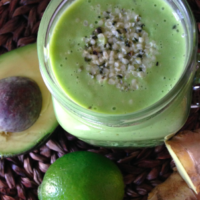 Ginger Hemp Green Smoothie