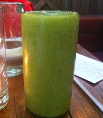 Post image for Green Mango Smoothie