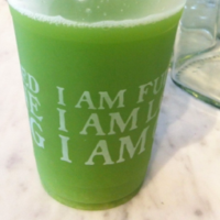 """I Am Healthy"" Green Juice"