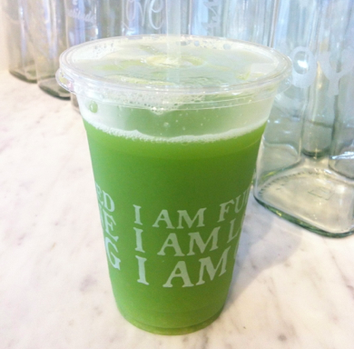 "Post image for ""I Am Healthy"" Green Juice"