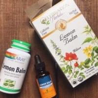 Lemon Balm For Anxiety And Sleep