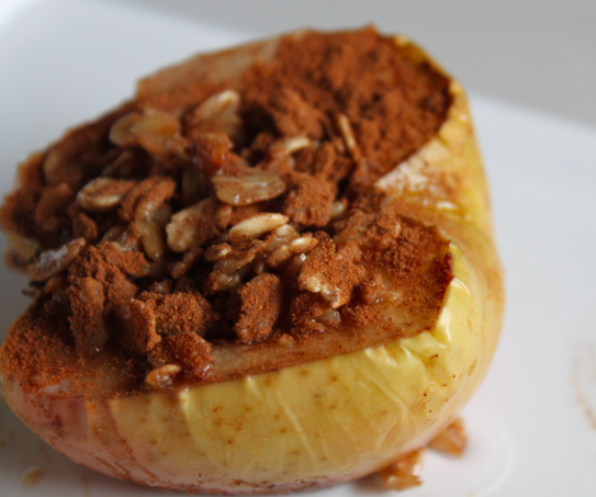Oatmeal Baked Apples | Healthy Crush