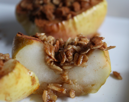 Post image for Oatmeal Baked Apples