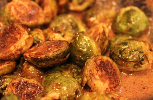 Post image for Cinnamon Brussels Sprouts