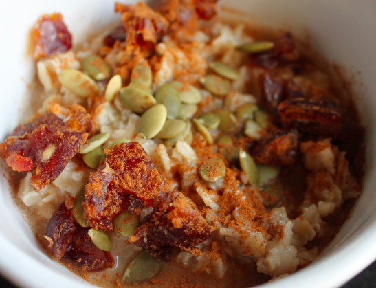 Post image for Sweet & Crunchy Oatmeal