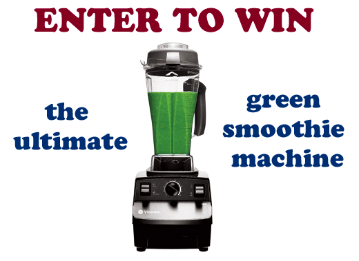 Post image for I'm Giving Away A VITAMIX!