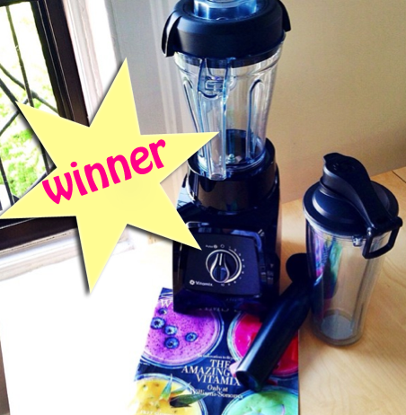 Post image for Vitamix S30 Contest Winner